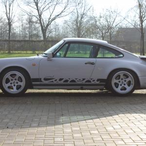 Porsche 911 3.2 '86 marble grau