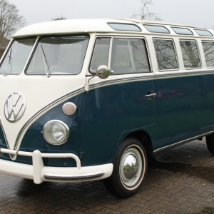 VW T1 21 windows Samba '65
