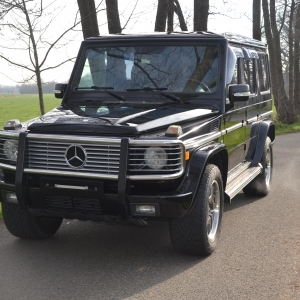 Mercedes G500 W463
