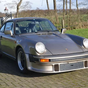 Porsche 930 Turbo '82 Platin