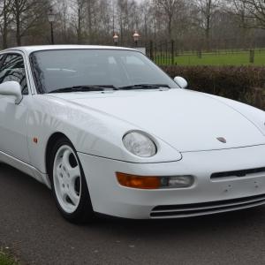 Porsche 968 CS Collectors condition