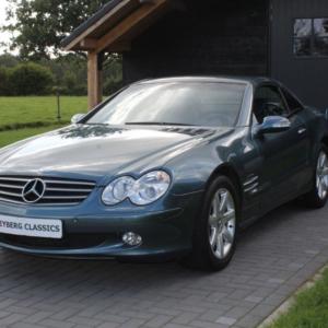 Mercedes SL500 (r230) Teal blue 14850 km!