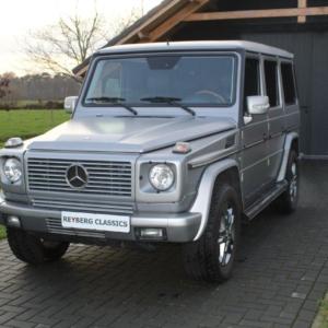 Mercedes G500 (w463) Grey Magno 2006