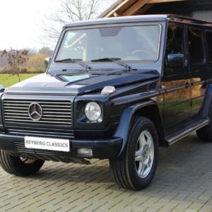 Mercedes G500 (w463) 2001