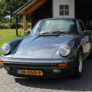 Porsche 911 3.2 G50 coupé Venetian Blue