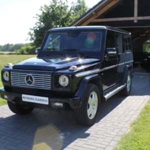 "Mercedes G500 (w463) Dark Blue ""Classic 25 Jahre edition"" 2004"