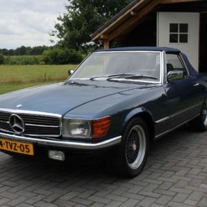 Mercedes 280 SL (r107) 1982