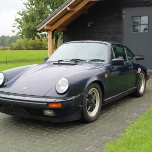 Porsche 911 Carrera 3.2 coupe 1986 Dark blue *reserved*