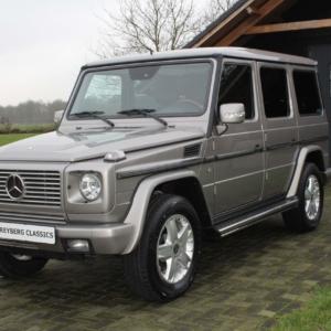 Mercedes G500 (w463) cubanit grey 2005