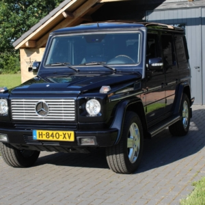 "Mercedes G-class (w463) G500 ""Classic 25"" edition 2004"