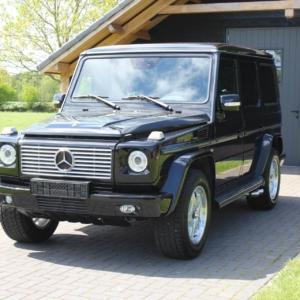 Mercedes G500 (w463) 2002 EU specs