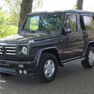 Mercedes G320 (w463) SWB 1995 (Onyxgrau)