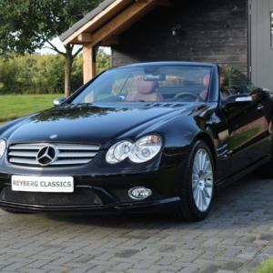 Mercedes SL500 (r230) AMG styling 2007