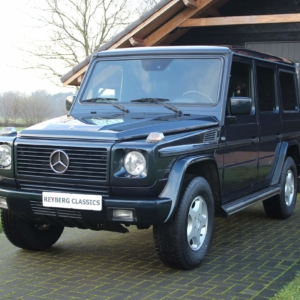 Mercedes G320 (w463) Emerald Black
