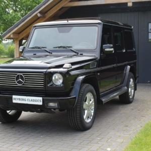 Mercedes G500 (w463) 2006 obsidian black