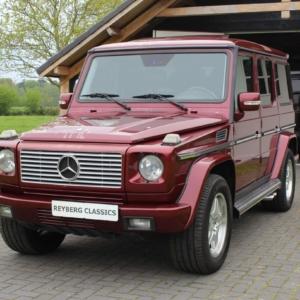 Mercedes G55 AMG kompressor Titanite red EU 2005