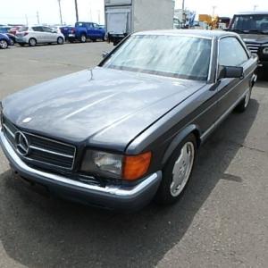 Mercedes 560 SEC (C126) *COLLECTOR*