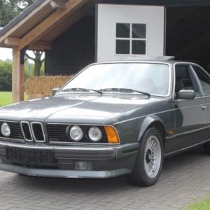 BMW 635 CSI (E24) 1989